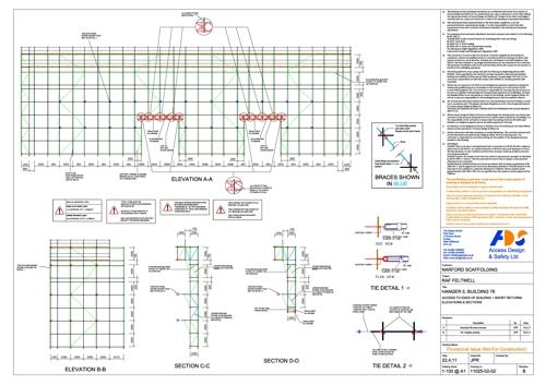 Scaffold Design.. by Access Design  Safety Ltd